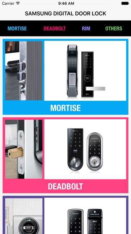 Digital Door Lock for Samsung