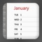 An easy to use calendar app for keeping track of all your important birthdays, wedding dates, anniversaries or any other kind of special date