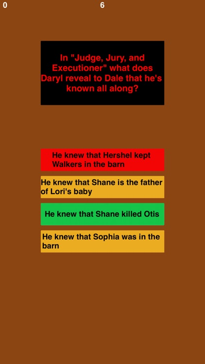 Trivia for TWD fans