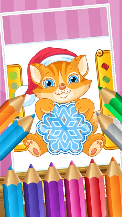 Cat Coloring Book Paint And Drawing For Kid Games