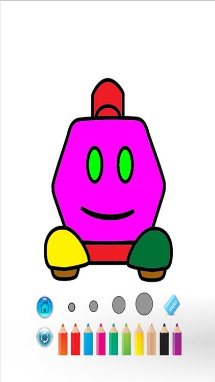 Robot Color Book