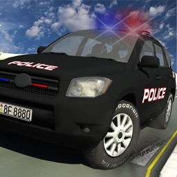Police Driver Car Extreme racing Stunt Simulator