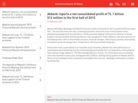 Akbank Investor Relations-ipad-1