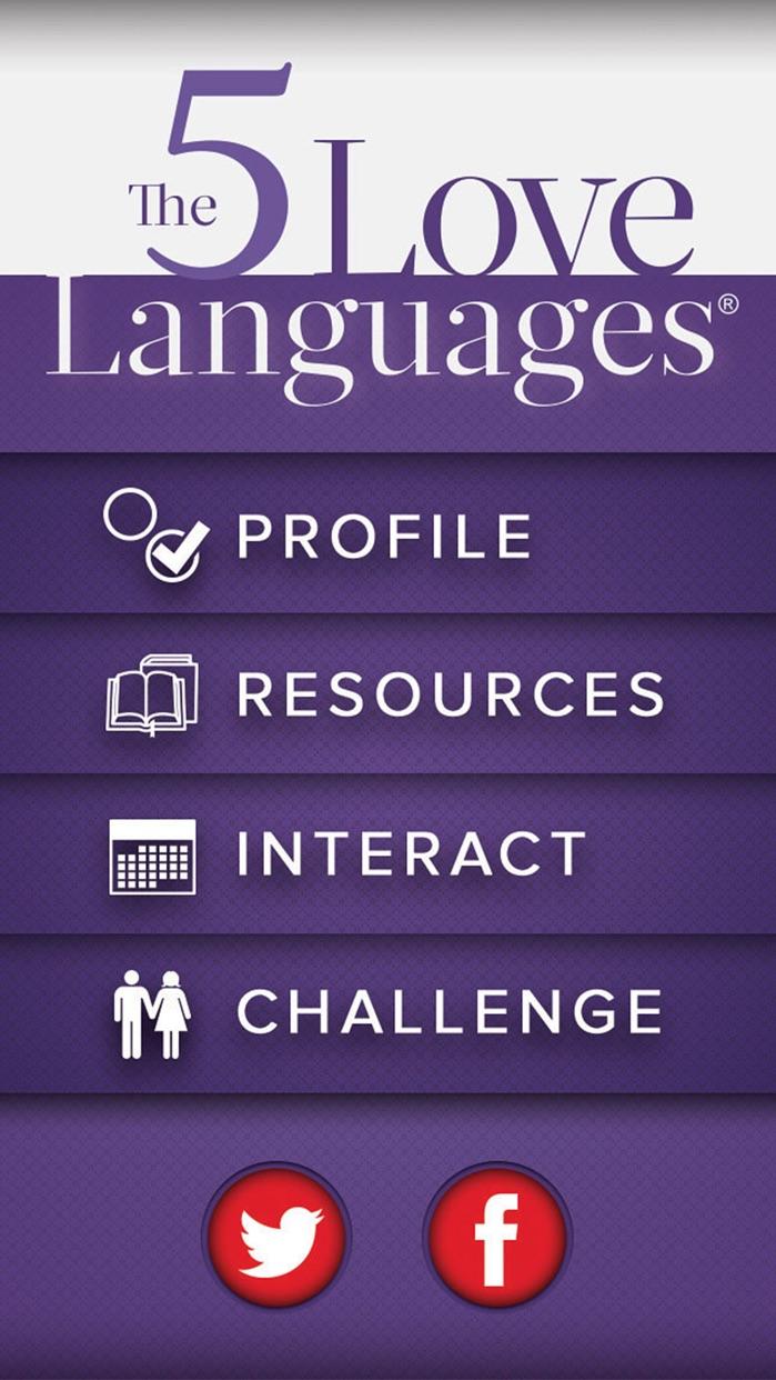 5 Love Languages Screenshot