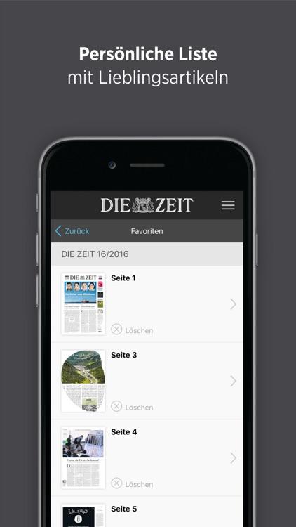 DIE ZEIT E-Paper screenshot-3