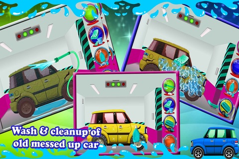 Crazy Mechanics Garage - Auto repair workshop salon & truck game screenshot 4