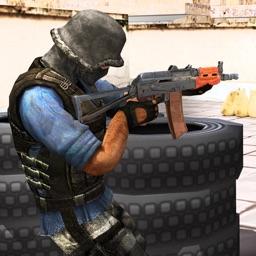 Clash of Gunner Terrorist
