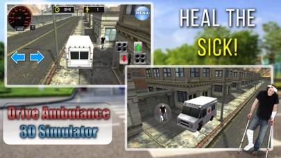 Drive Ambulance 3D Simulator screenshot one