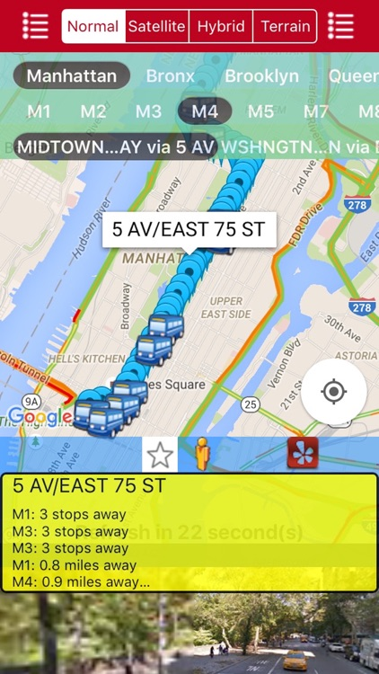 My NYC Next Bus Real Time Pro - Public Transportation Directions and Trip Planner screenshot-3