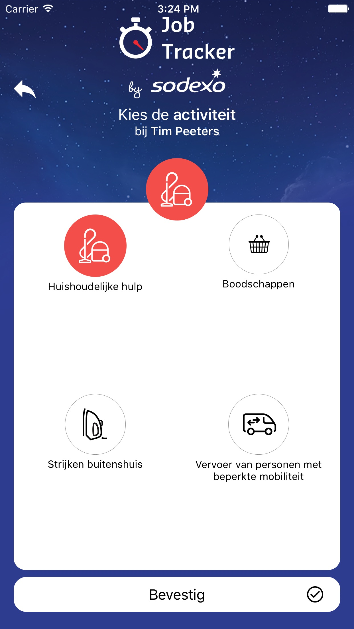 Job Tracker by Sodexo Screenshot