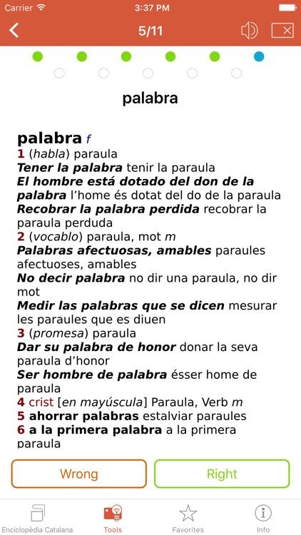 Advanced Spanish-Catalan Catalan-Spanish Dictionary from Enciclopèdia Catalana screenshot-4