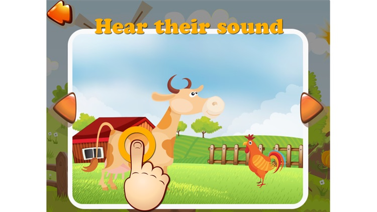 Sunny Farm - Fun Cartoon Farm Animals Game For Toddler With Puzzle Sound Food Free