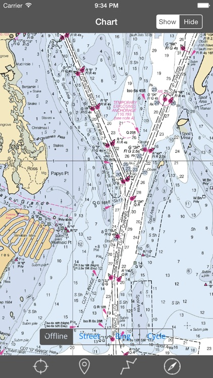 Tampa Bay (Florida)  - Raster Nautical Charts screenshot-3