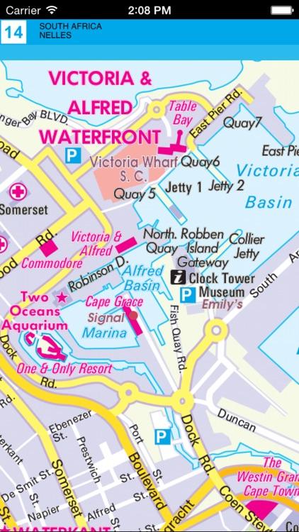 Африка: Юг. Туристическая карта. screenshot-4
