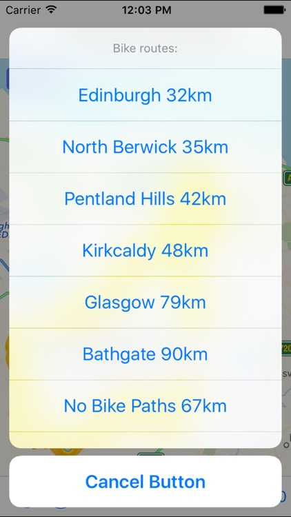 Edinburgh Cycling Map screenshot-2