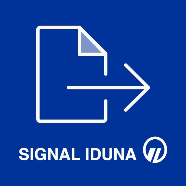 signal iduna rechnungsapp im app store. Black Bedroom Furniture Sets. Home Design Ideas
