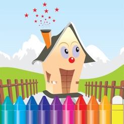 Detras De Las Paredes Libro Para Colorear Dibujo De Inicio Juegos