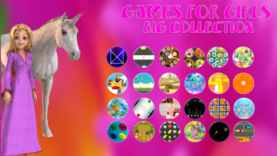 Games For Girls Big Collection screenshot one