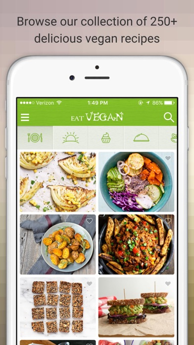 Eat Vegan - Delicious Vegan Diet Recipes and Meals for pc
