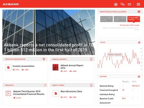 Akbank Investor Relations-ipad-0