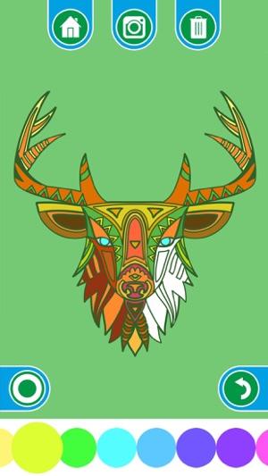 App Store раскраски для взрослых мандала орнамент