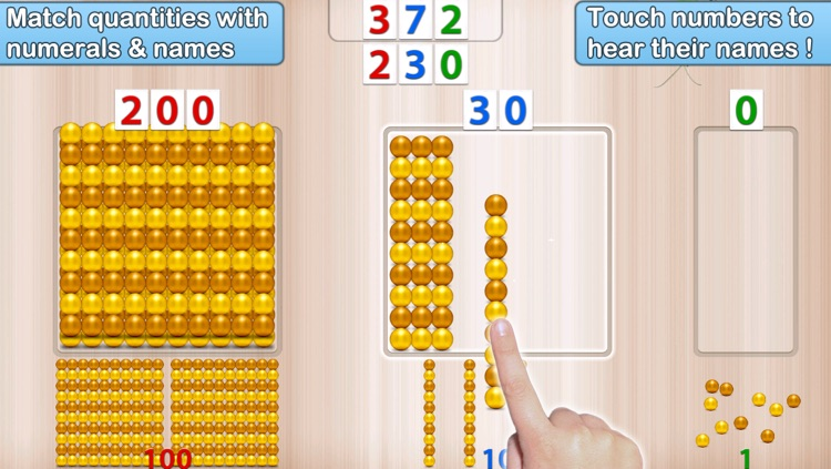 Montessori Numbers - Learn to Count from 1 to 1000 & Other Math Activities screenshot-3