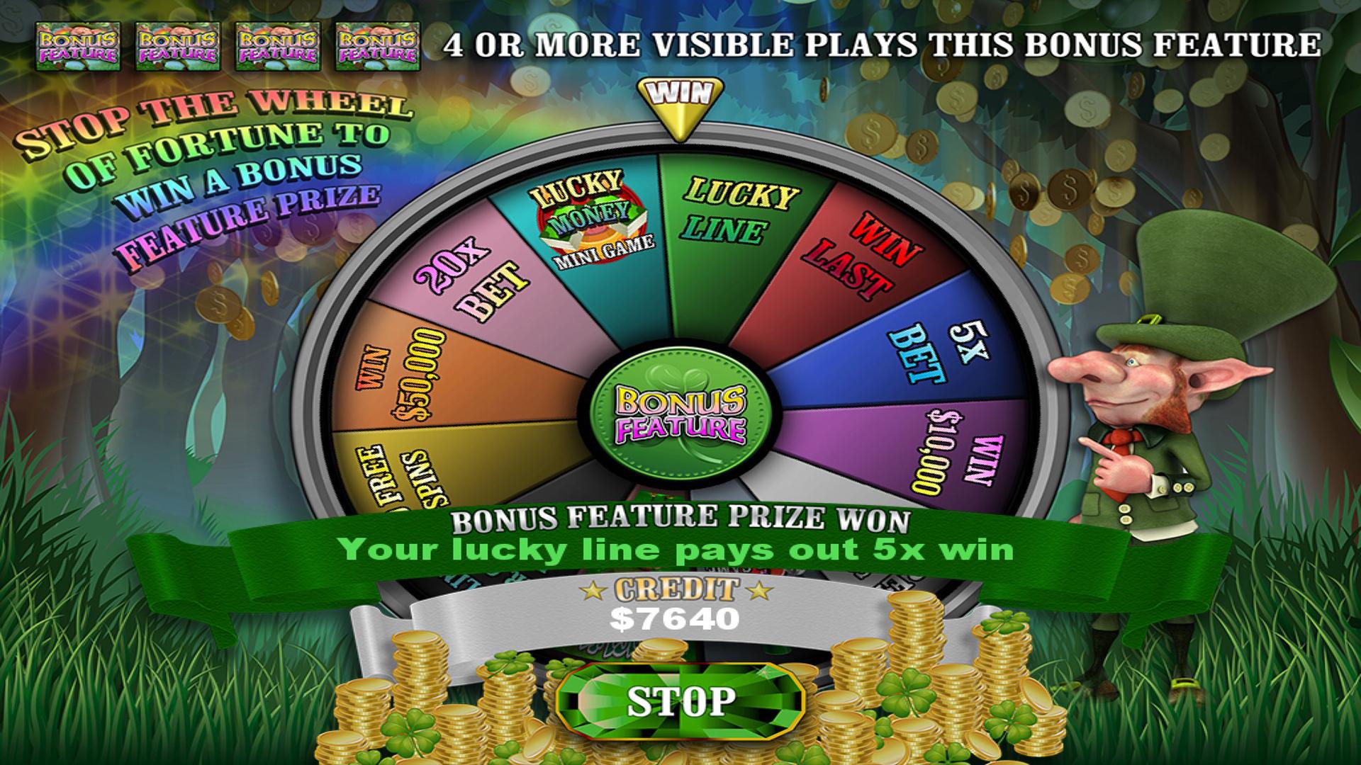 Crock O'Gold Slots 2 - Dublin Yer Cash TV screenshot 2
