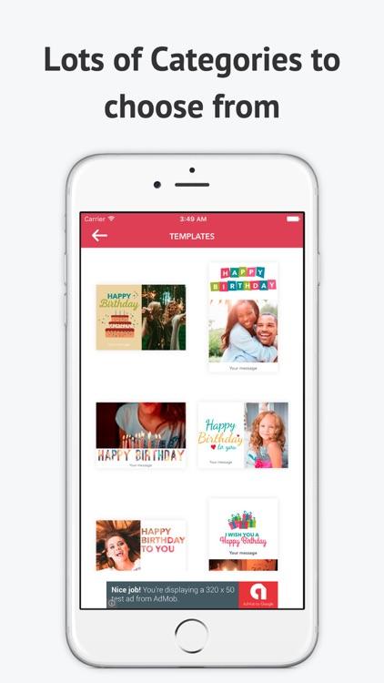 eCard Maker-Celebrate and Send Wishes Free screenshot-3