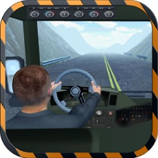 Activities of Mountain Bus Driving Simulator Cockpit View - Dodge the traffic on a dangerous highway