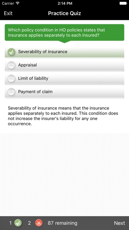 ExamFX Property & Casualty Exam Prep screenshot-2