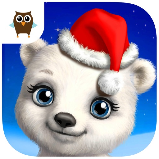 Christmas Animal Hair Salon - No Ads icon