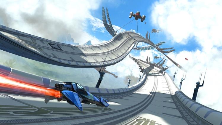 3D Speedway Racing Ahead!