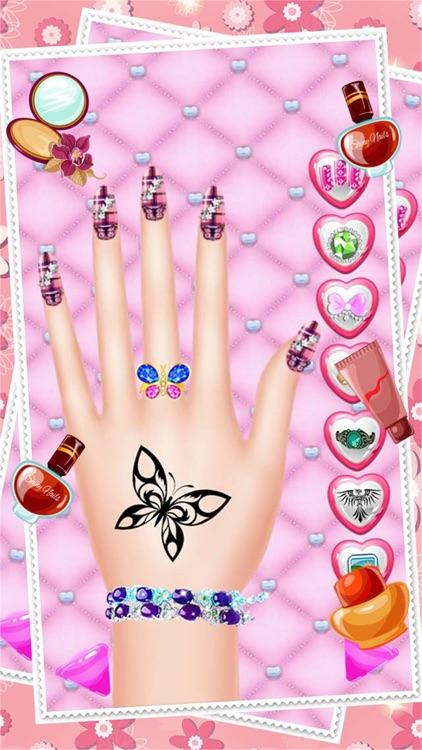 Fashion Nail Salon And Beauty Spa Games For Girls - Princess Manicure Makeover Design And Dress Up screenshot-3