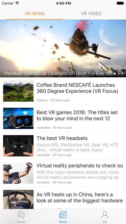 VRCommunity - The worldwide VR(virtual reality) community and VR player screenshot-3