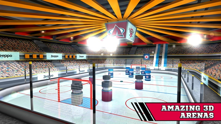 Pin Hockey - Ice Arena - Glow like a superstar air master