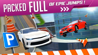 Roof Jumping 3 Stunt Driver Parking Simulator an Extreme Real Car Racing Gameのおすすめ画像3