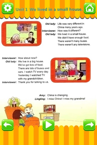 外研版小学英语五年级下册 - 中英双语发音五年级下册 - 三年级起点正版英语点读机 screenshot 2