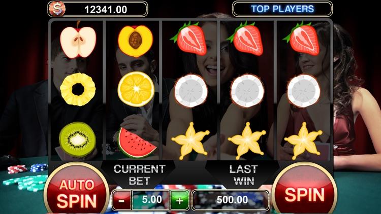 Poker Face Live Texas Holdem Slot