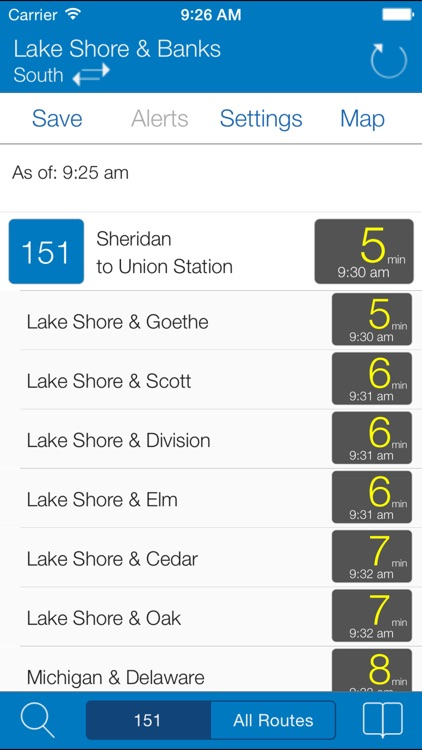 Transit Stop: CTA Tracker screenshot-2