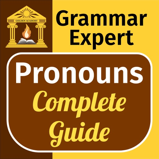 Grammar Expert : Pronouns [ Complete Guide ] icon
