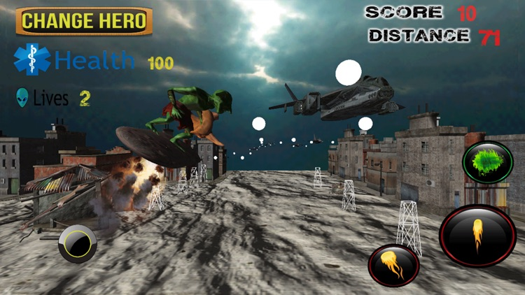 Orc Warrior Army Siege 3D - f22 raptor air to air strategy battle screenshot-3