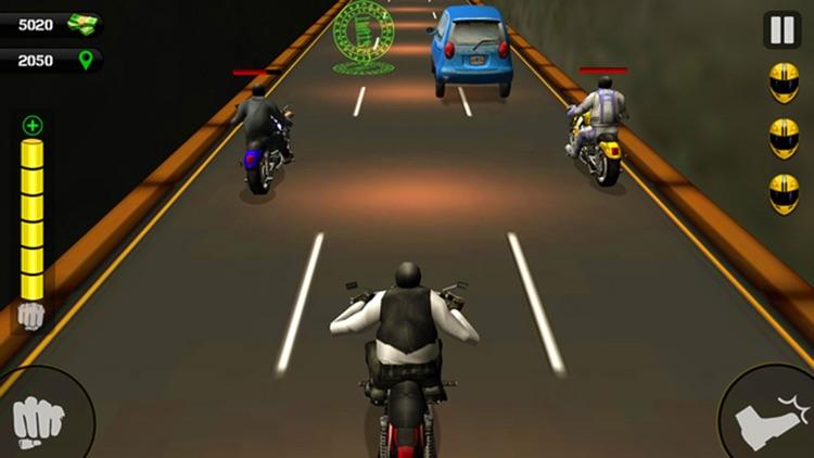 Road Rush Motorbike Rider - Ride the Moto bike in highway screenshot-3