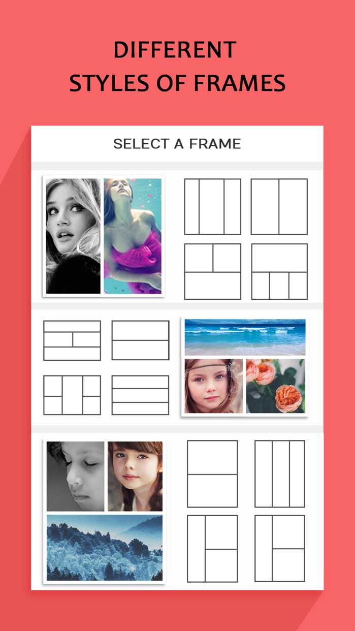 Photo Collage – Frame Editor and Perfect Camera Screenshot