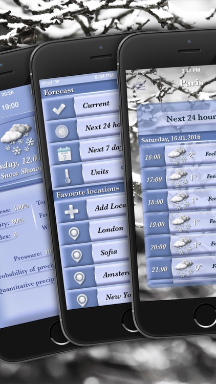 Weather - Professional Forecasting screenshot-3