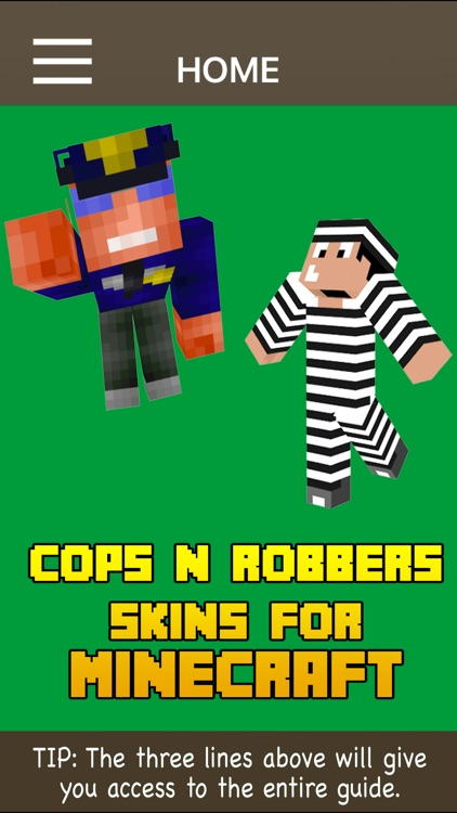 Cops N Robbers Skin Pack For Minecraft screenshot-1