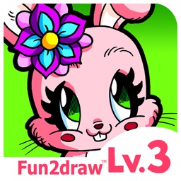 Fun2draw™ Animals Lv3 - How to Draw & Color Stylish Pretty Kawaii Animal Characters