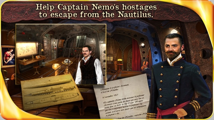 20 000 Leagues under the sea - Extended Edition - A Hidden Object Adventure screenshot-0