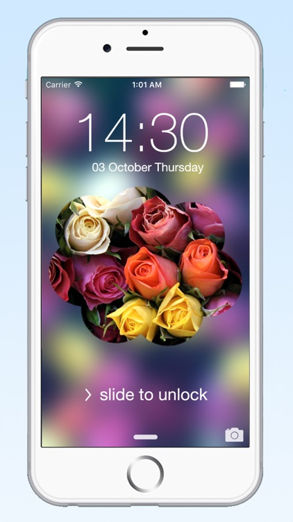 Simple Lock Screen Wallpaper Maker - Best New HD Theme with Cool Beautiful Background Blur Design for your iPhone