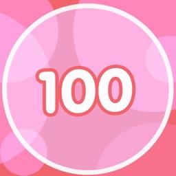 100 Pink Pong Balls