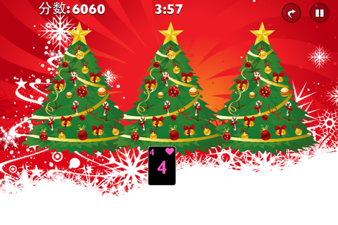 Tri Xmas Tree Solitaire screenshot 3